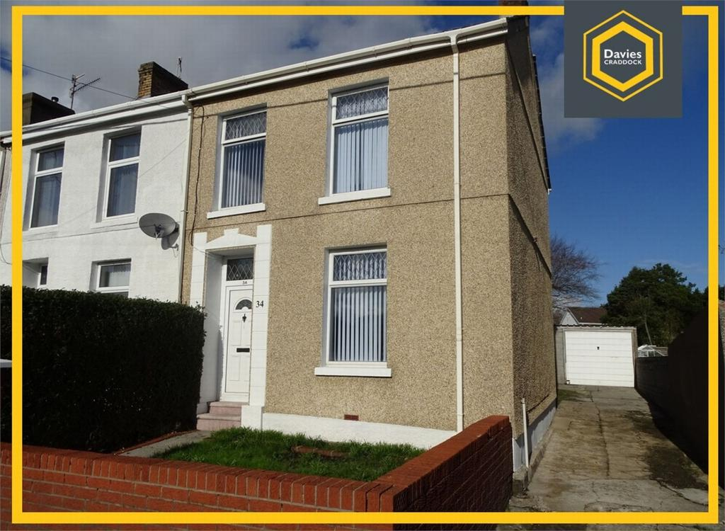 3 Bedrooms End Of Terrace House for sale in 34 Bryngwyn Road, Dafen, Llanelli, Carmarthenshire
