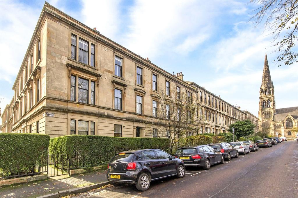 3 Bedrooms Flat for sale in Flat 2/1, 29 Havelock Street, Dowanhill, Glasgow, G11