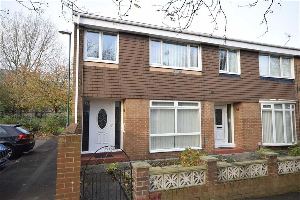 3 Bedrooms End Of Terrace House for sale in Agricola Court, South Shields