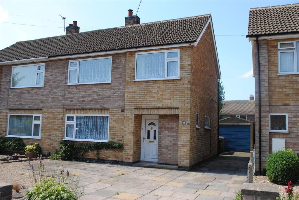 3 Bedrooms Semi Detached House for sale in Dunster Road, Mountsorrel