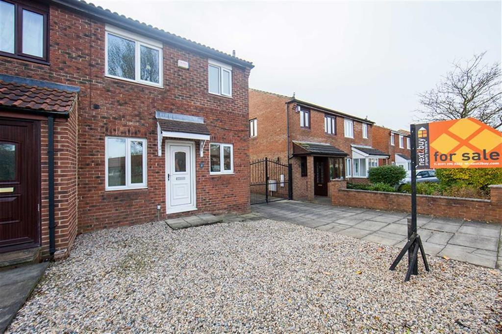 3 Bedrooms Semi Detached House for sale in Parkside Terrace, High Farm, Wallsend, NE28
