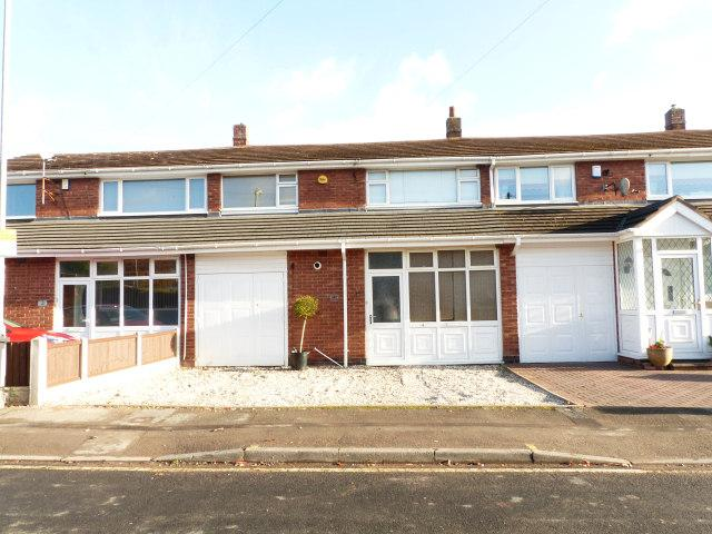 3 Bedrooms Terraced House for sale in Valentine Close,Streetly,Sutton Coldfield