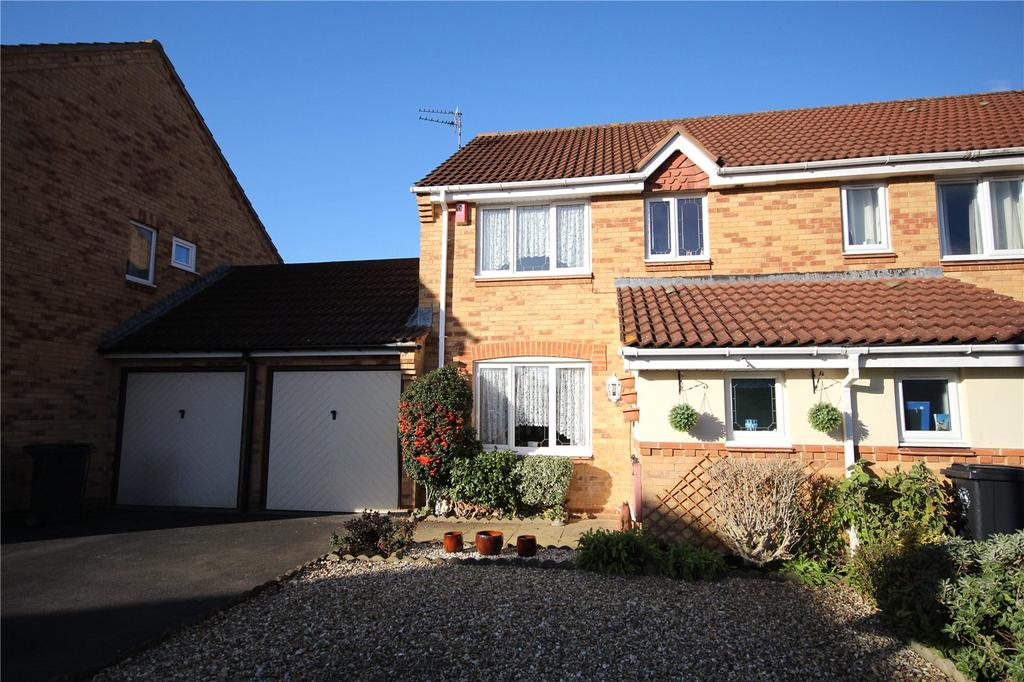 3 Bedrooms Semi Detached House for sale in Willow Bed Close, Fishponds, Bristol, BS16