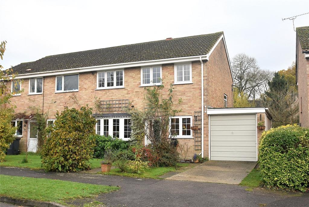 4 Bedrooms Semi Detached House for sale in Hartleys, Silchester, Reading, Hampshire, RG7