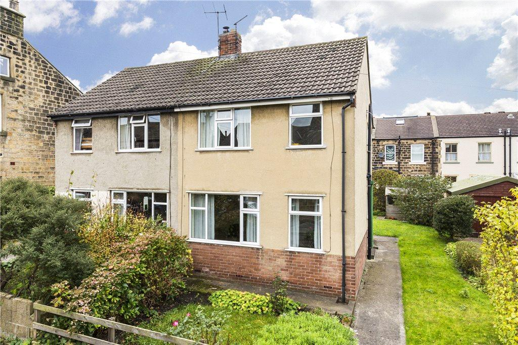 3 Bedrooms Semi Detached House for sale in Peel Place, Burley In Wharfedale, Ilkley, West Yorkshire