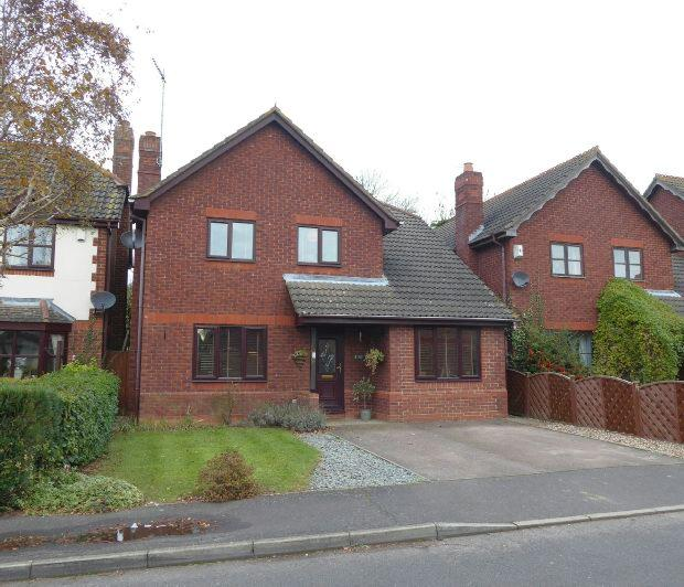 4 Bedrooms Detached House for sale in Woburn Close, Banbury