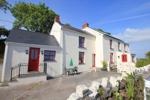 5 bedroom farm house for sale - Llansadurnen,  Laugharne, SA33