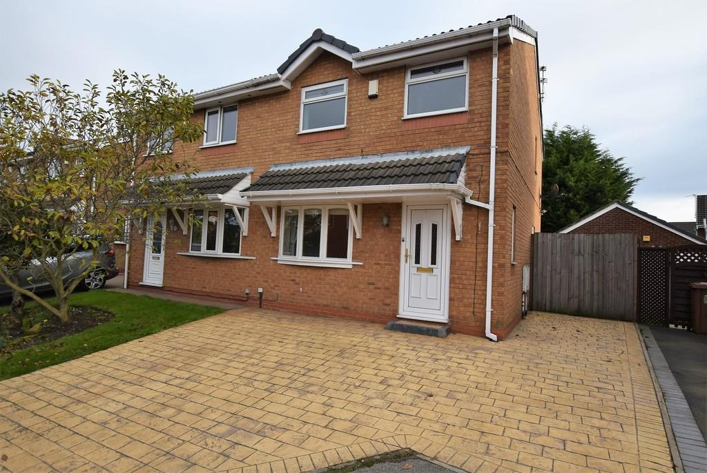 3 Bedrooms Semi Detached House for sale in Peach Grove, Haydock