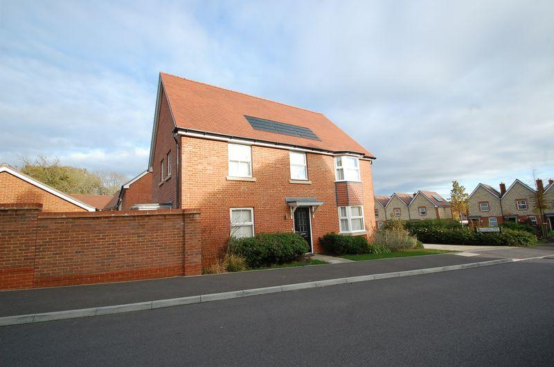 4 Bedrooms Detached House for sale in Leachman Way, Petersfield, Hampshire