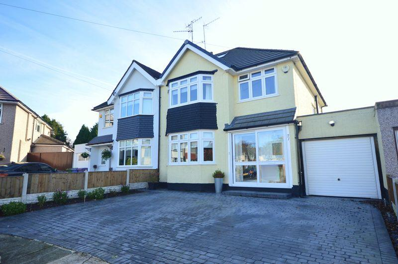 3 Bedrooms Semi Detached House for sale in Beechfield Road, Calderstones
