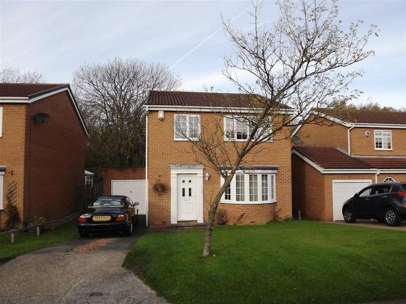 4 Bedrooms Detached House for sale in York Close, Westwood Grange, Cramlington