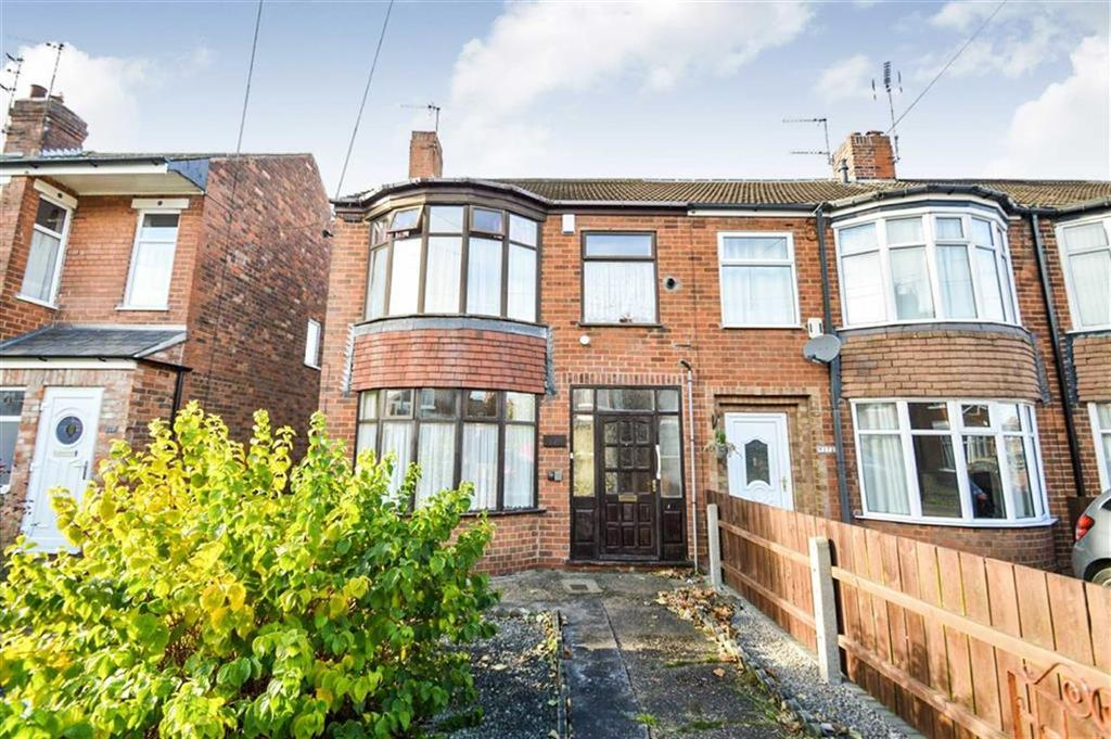 3 Bedrooms End Of Terrace House for sale in Westfield Road, Hull, HU4