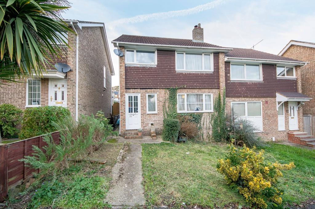 3 Bedrooms Semi Detached House for sale in Lewins Walk, Bursledon, Southampton SO31