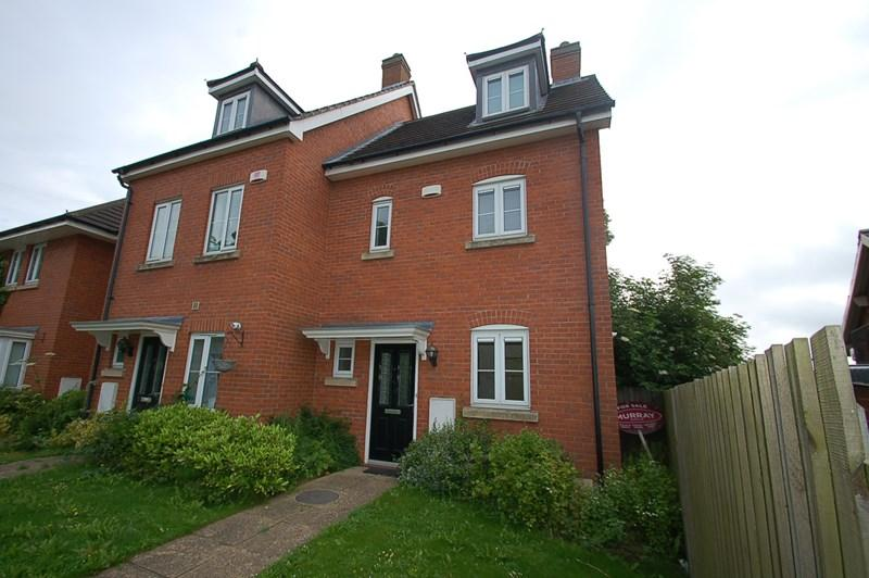 3 Bedrooms End Of Terrace House for rent in Mallard Court, Oakham, LE15