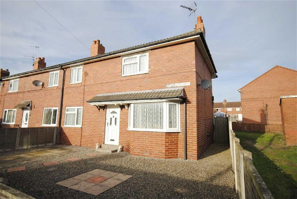 3 Bedrooms End Of Terrace House for sale in Cliff Crescent, Kippax, Leeds, LS25