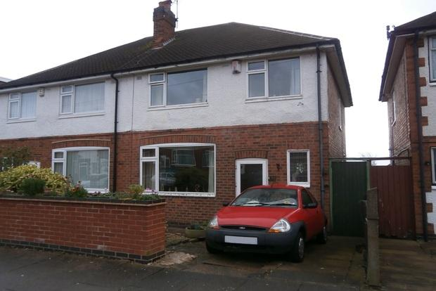 3 Bedrooms Semi Detached House for sale in Dersingham Road, Stadium Estate, Leicester, LE4