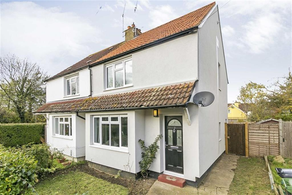 2 Bedrooms Semi Detached House for sale in Shortcroft Road, West Ewell, Surrey