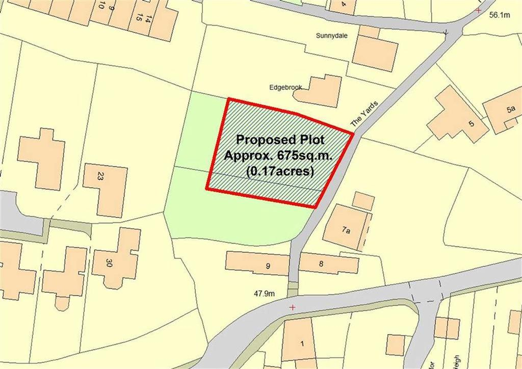 Land Commercial for sale in Land To The Rear Of, 9, Oldbury Wells, High Town, Bridgnorth, Shropshire, WV16