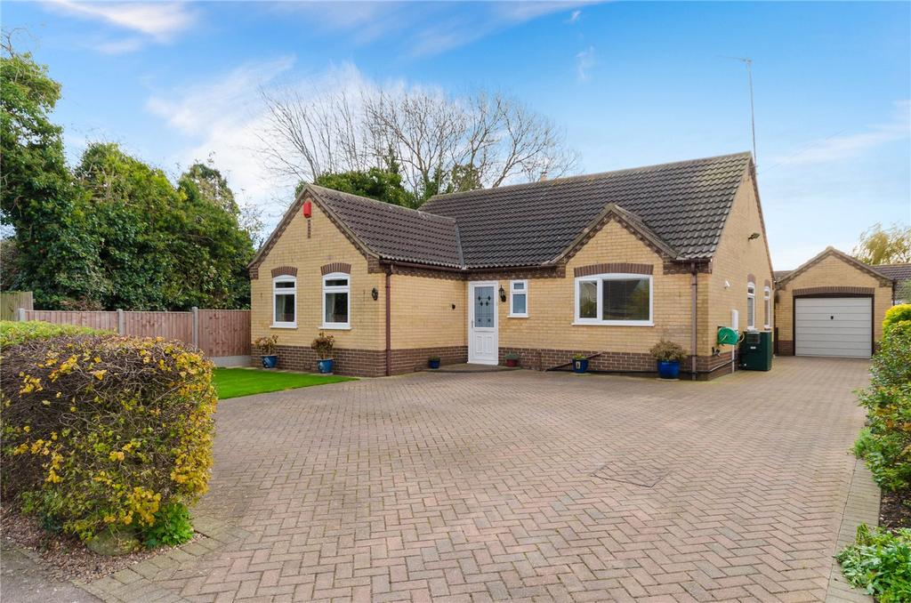 3 Bedrooms Detached Bungalow for sale in Formans Lane, Anwick, Sleaford, Lincolnshire, NG34