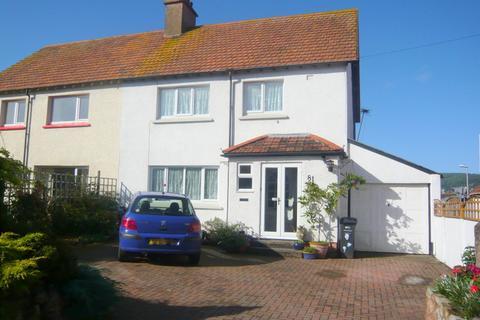 3 bedroom semi-detached house for sale - Marshfield Road, Minehead TA24