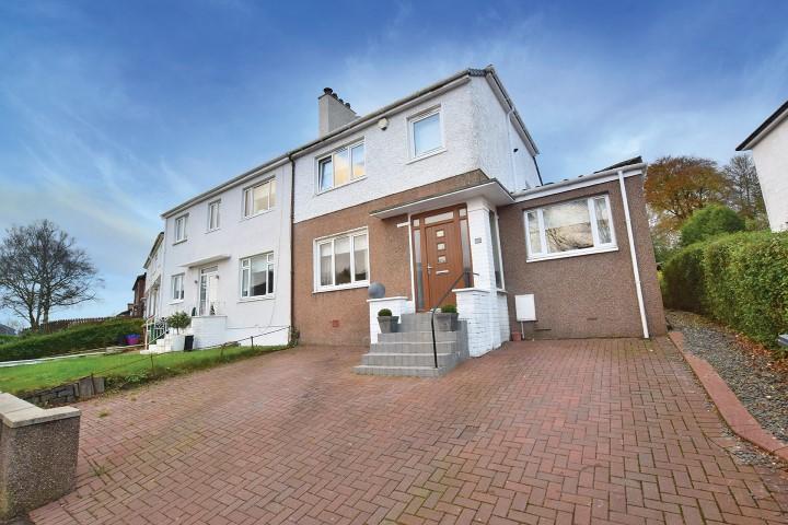 4 Bedrooms Semi Detached House for sale in 47 Milverton Avenue, Bearsden, G61 4BG