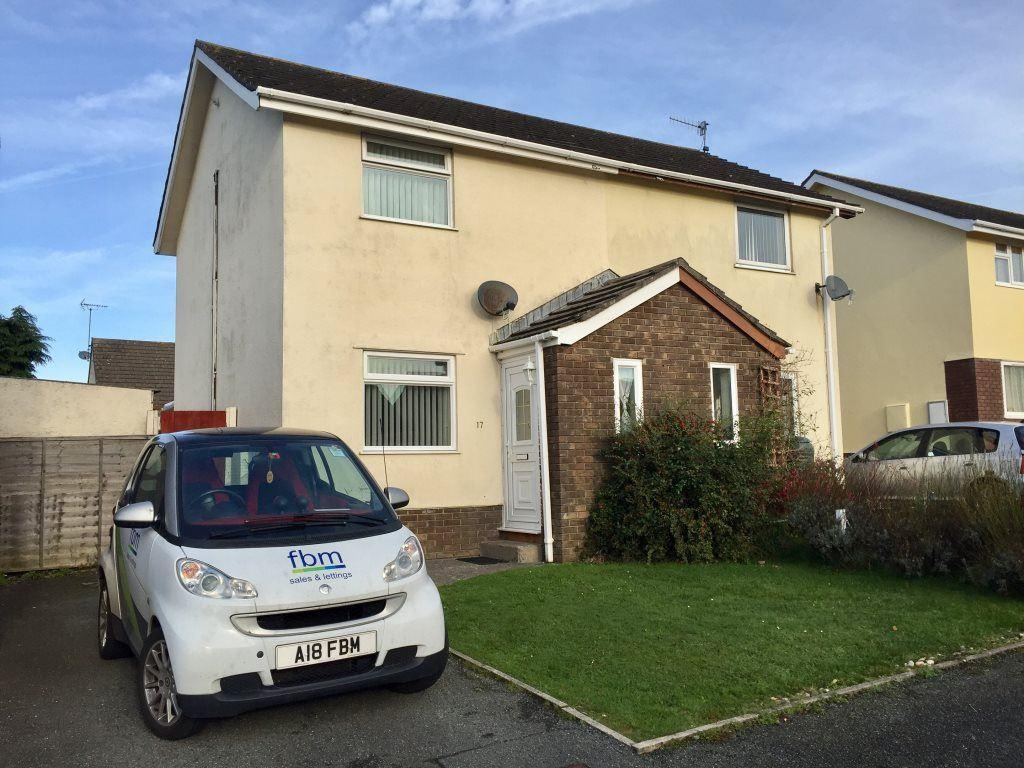 2 Bedrooms Semi Detached House for rent in Glenview Avenue, Pembroke Dock, Pembrokeshire