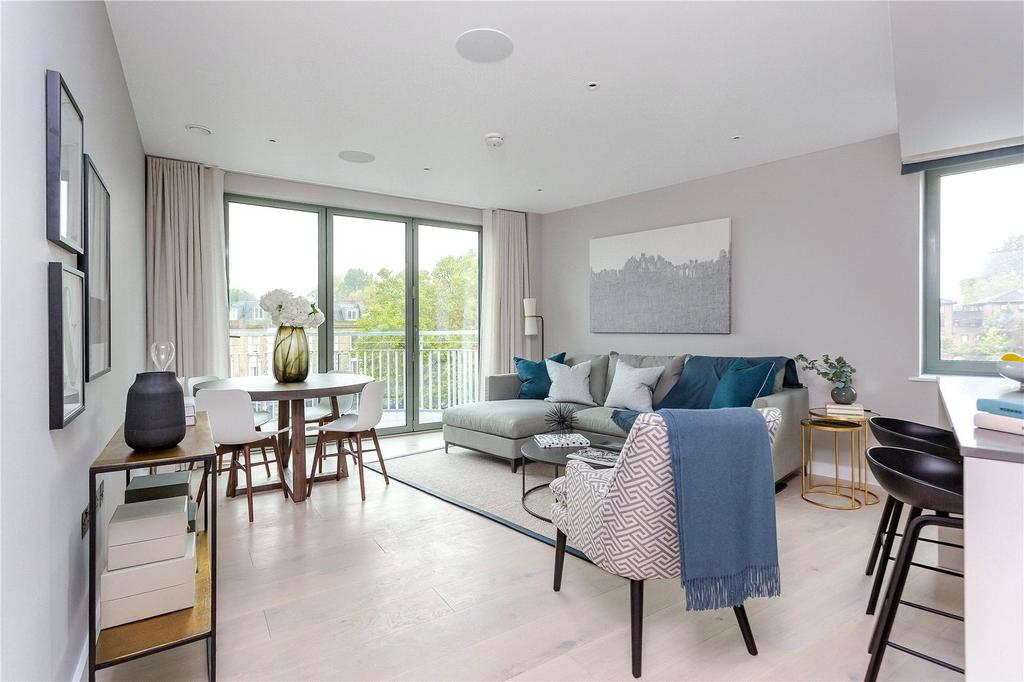 3 Bedrooms Flat for sale in St Augustines, St Augustines Road, London, NW1