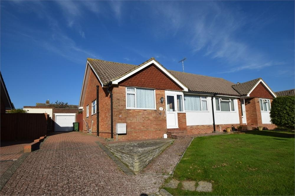 2 Bedrooms Semi Detached Bungalow for sale in Dene Drive, West Hampden Park, East Sussex