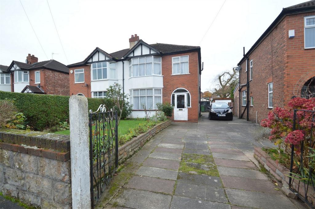 3 Bedrooms Semi Detached House for sale in Norton Avenue, SALE, Cheshire