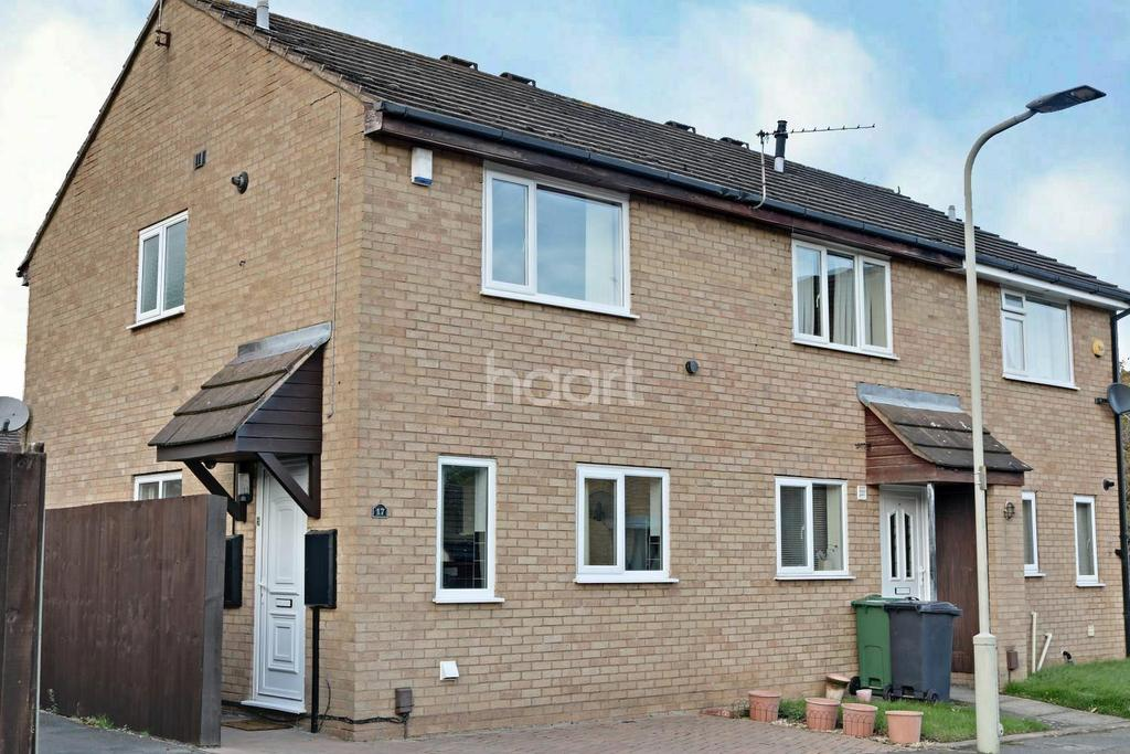 2 Bedrooms Semi Detached House for sale in Roundhill Way, Loughborough