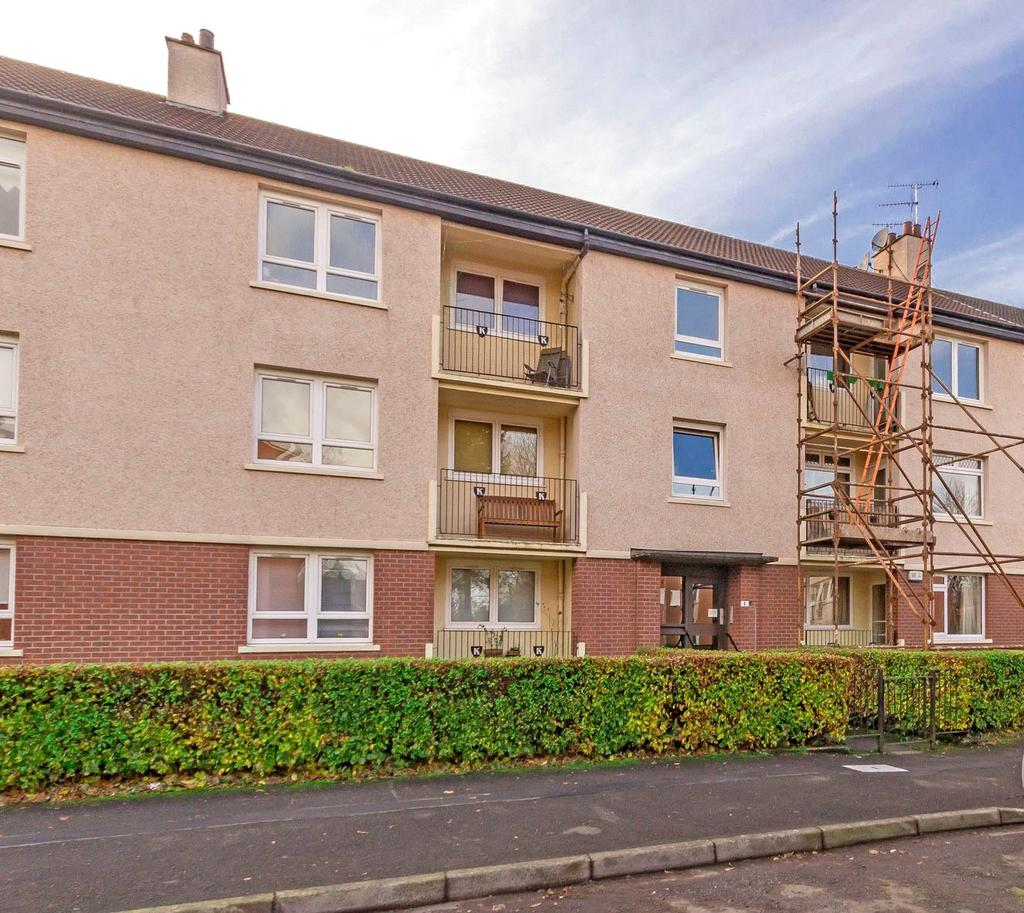 2 Bedrooms Flat for sale in Flat 2/2, 8 Wykeham Place, Knighstwood, Glasgow, G13