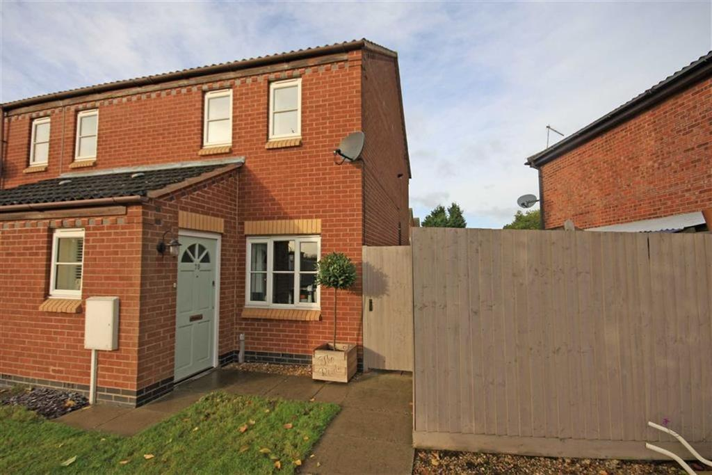 2 Bedrooms Semi Detached House for sale in Kings Road, Oakham, Rutland