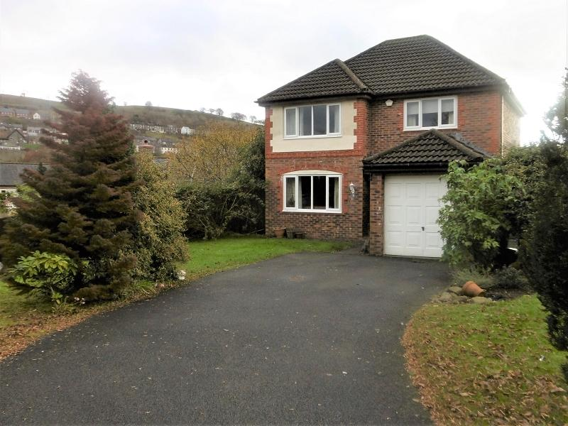 4 Bedrooms Detached House for sale in Howards Way, Victoria, Ebbw Vale, Blaenau Gwent.