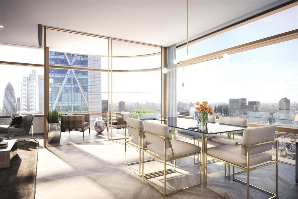 2 Bedrooms Flat for sale in Principal Tower, Shoreditch High Street, London, EC2M