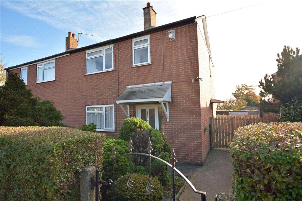 2 Bedrooms Semi Detached House for sale in St Catherines Drive, Leeds