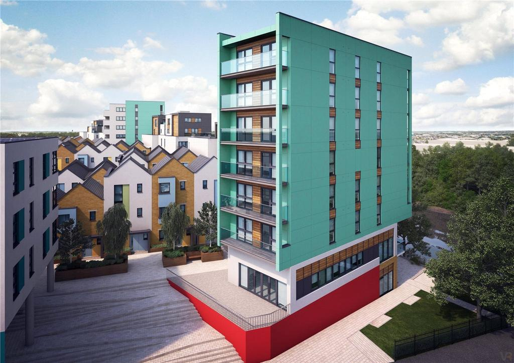 2 Bedrooms Flat for sale in Apartment 193, Paintworks, Arnos Vale, Bristol, BS4