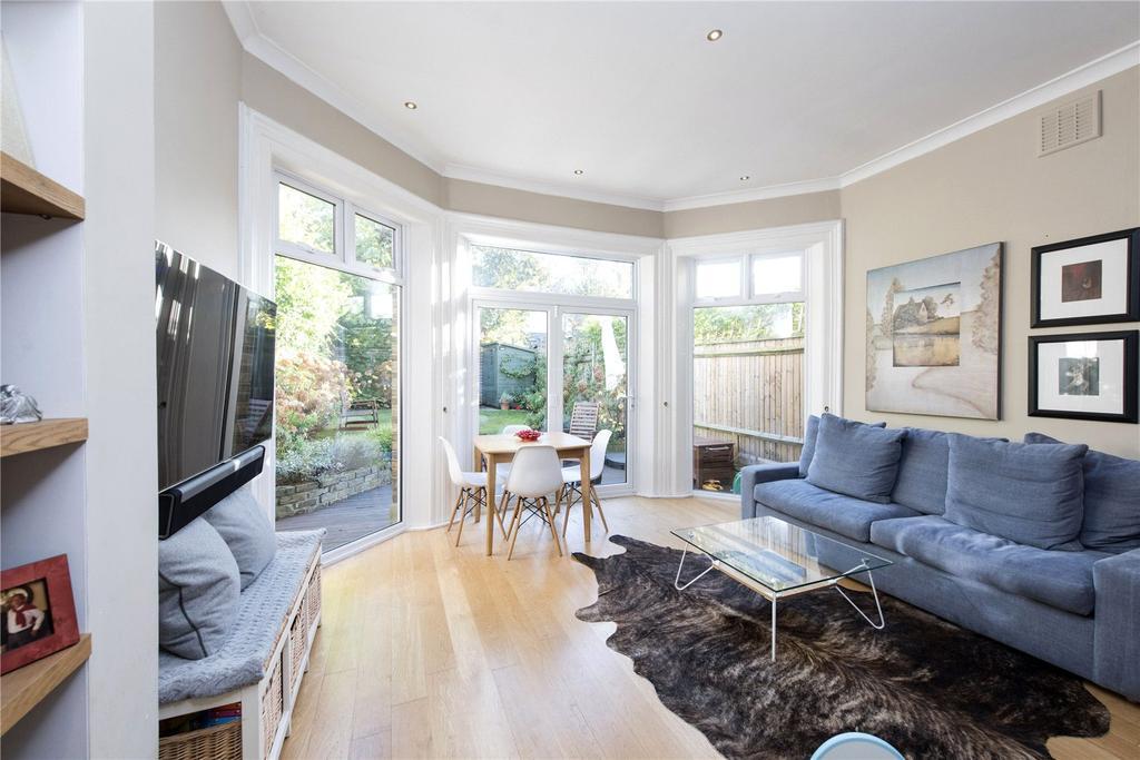 2 Bedrooms Maisonette Flat for sale in Ramsden Road, London, SW12