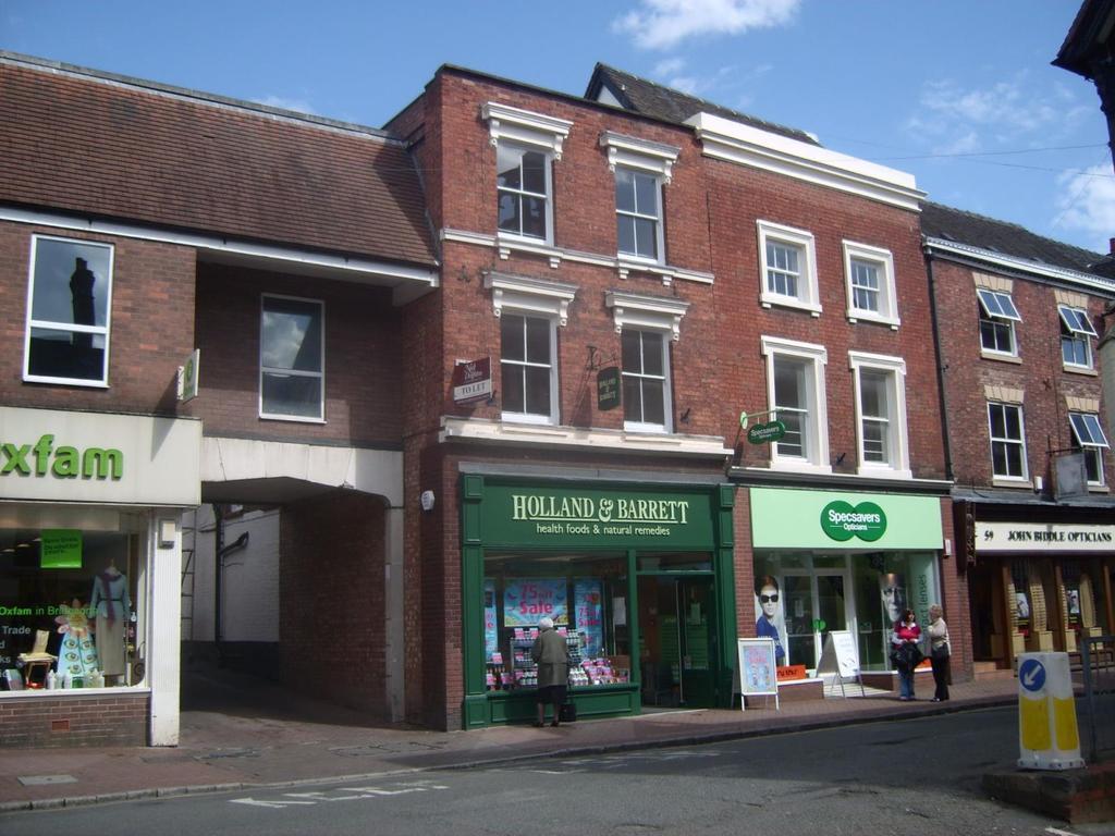1 Bedroom Flat for rent in 61B High Street, Bridgnorth, Shropshire, WV16