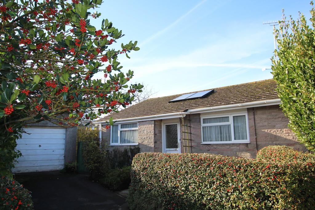 2 Bedrooms Semi Detached Bungalow for sale in West is best.... tucked away in a quiet cul de sac backing onto open fields