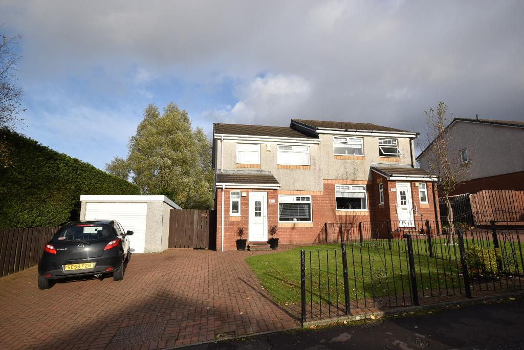 3 Bedrooms Semi Detached House for sale in Ravenscraig Drive, Glasgow, Glasgow, G53 6QB