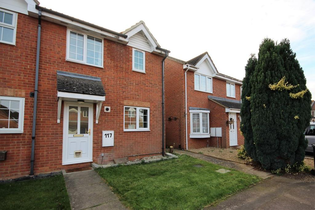 2 Bedrooms End Of Terrace House for sale in Elgar Drive, Shefford, SG17