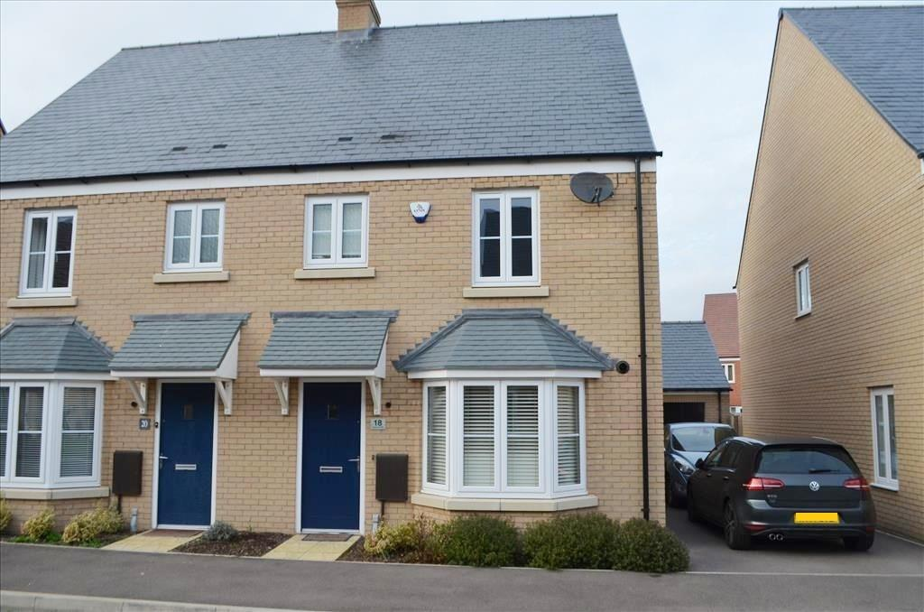 3 Bedrooms Semi Detached House for sale in Rutherford Way, Biggleswade, Biggleswade, SG18