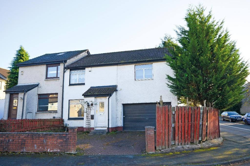 4 Bedrooms Semi Detached House for sale in Foxhills Place, Summerston, Glasgow, G23 5NG