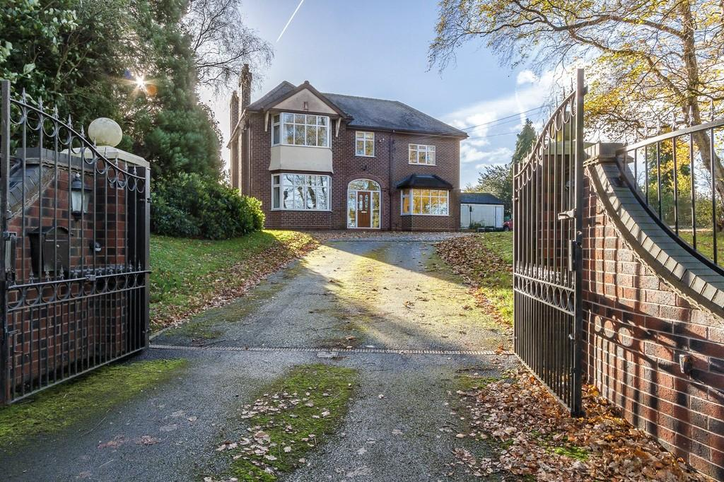 4 Bedrooms Detached House for sale in Audlem Road, Woore