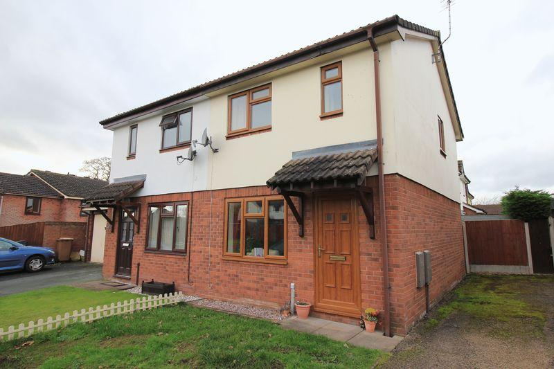 2 Bedrooms Semi Detached House for sale in Smale Rise, Oswestry