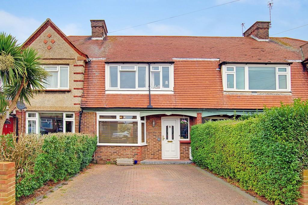 3 Bedrooms Terraced House for sale in Marlowe Road, Worthing, BN14 8EZ