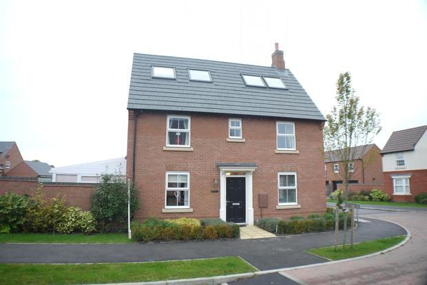 5 Bedrooms Detached House for sale in Abbott Way, Whetstone, Leicester, LE8