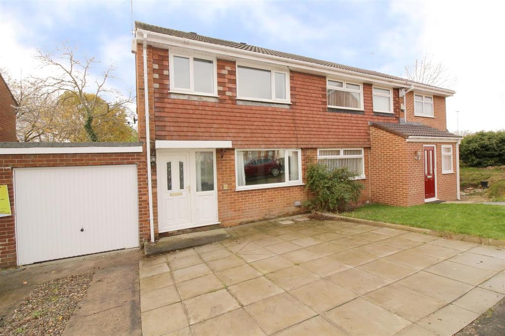 3 Bedrooms Semi Detached House for sale in Epsom Court, Newcastle Upon Tyne
