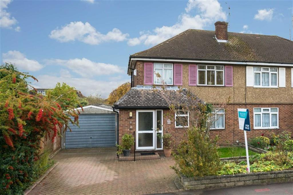 3 Bedrooms Semi Detached House for sale in Middlefield Close, St Albans, Hertfordshire