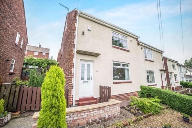 3 Bedrooms Semi Detached House for sale in Park View Gardens, Ryton